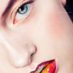 Colorful Beauty Portrait
