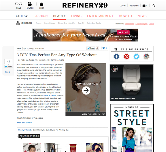 Gym Hairstyles Refinery29