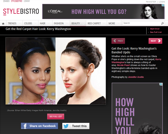 Get The Hair Look: Kerry Washington