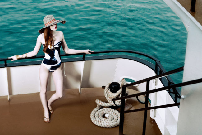 Glossed and Found Summer Swim Editorial