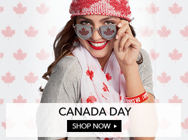 Claires Store, Canada Day Banner