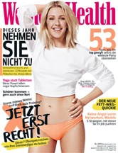 Women's Health Deutschland December 2015 Cover