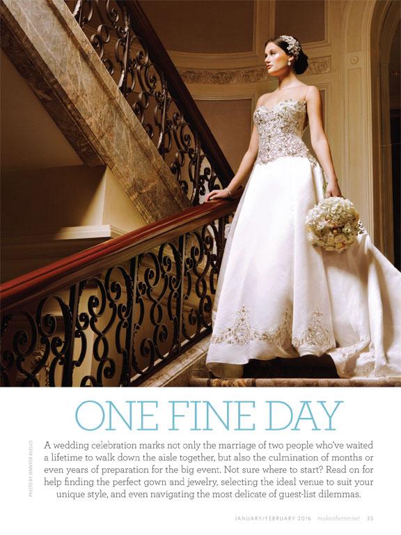 Editorial Bridal Portrait