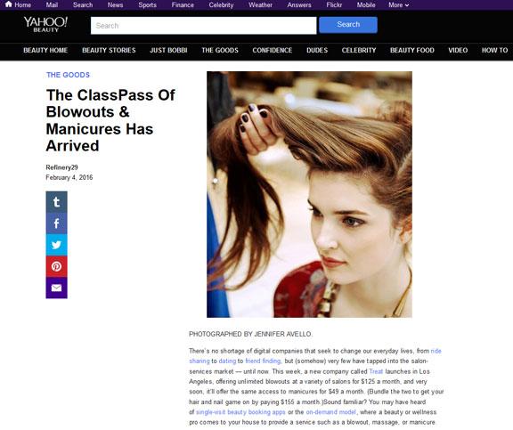 Treat App Review Yahoo Beauty