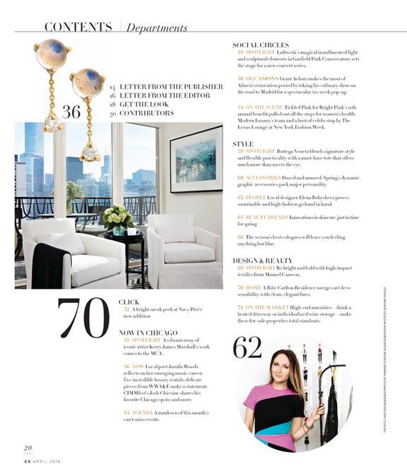 Elena Bobysheva in CS Magazine