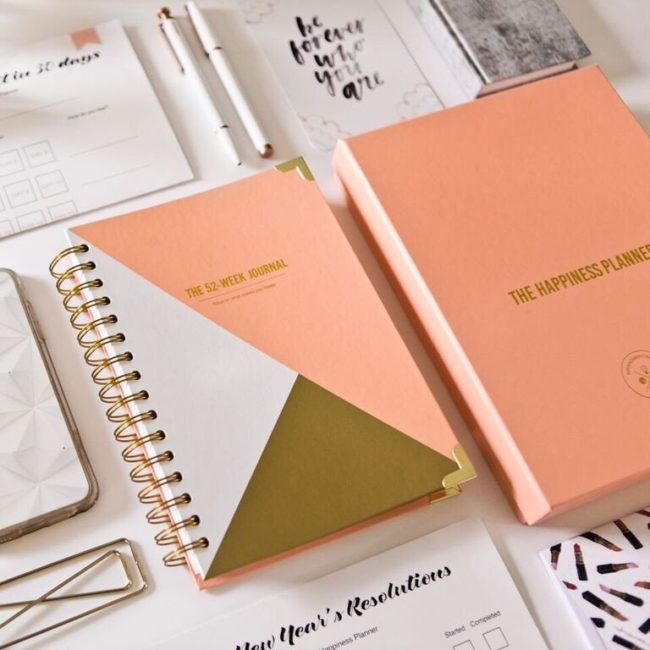 The Happiness Planner, 52 Week Journal