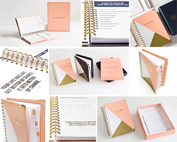 The Happiness Planner 52-Week Journal (UnDated) Product Shots