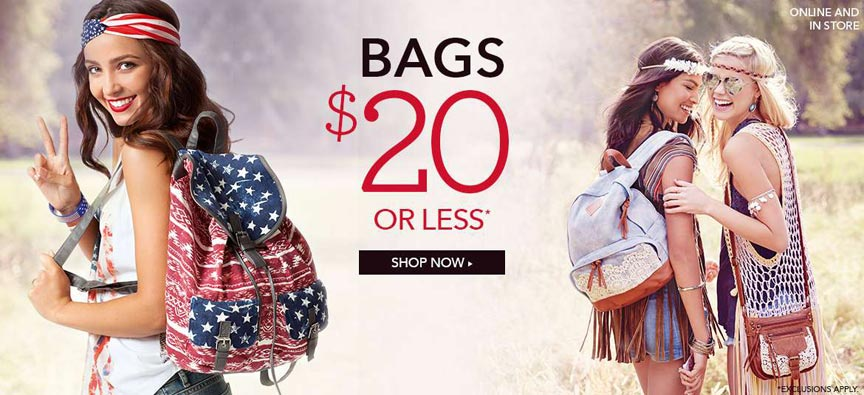 Claire's Store Stars and Stripes Ad