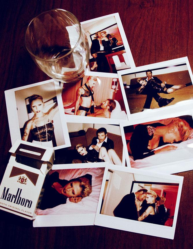 Sexy Polaroids inside Room 401