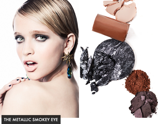 The Metallic Smokey Eye