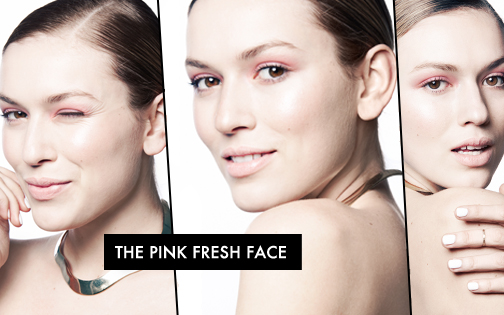 The Pink Fresh Face