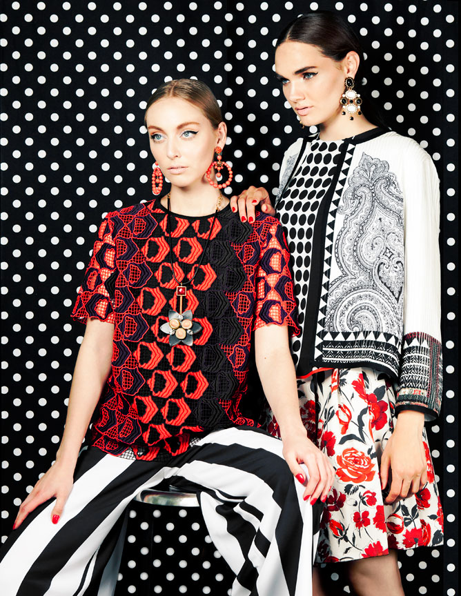 Mixed and Match Print fashion editorial