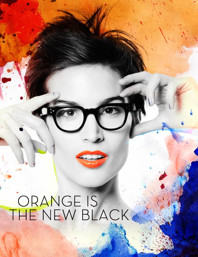 Orange is the new black lipstick
