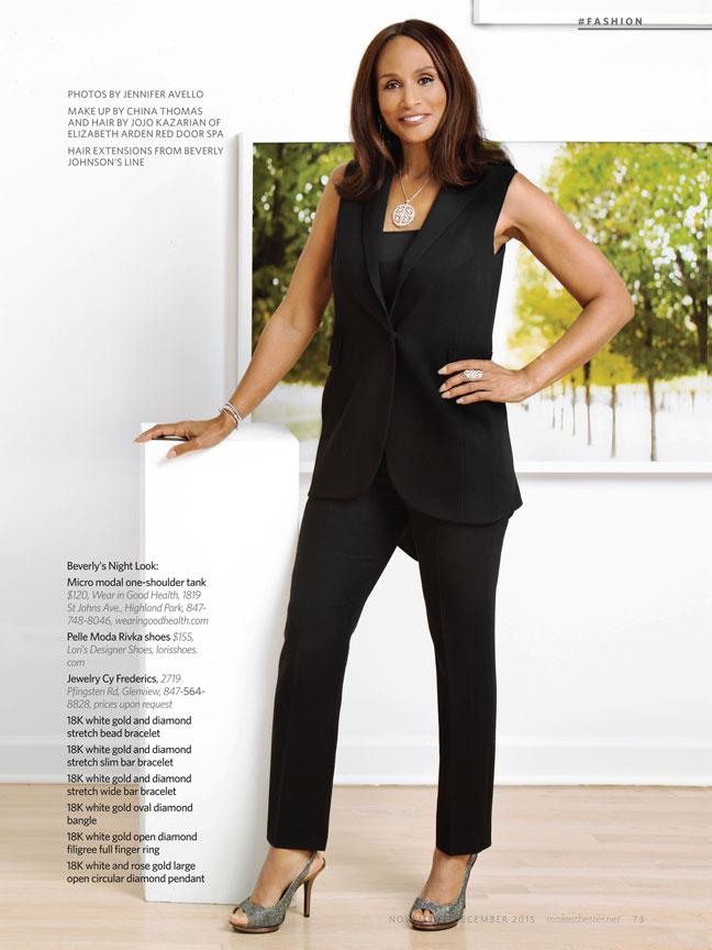 Beverly Johnson Fashion Editorial