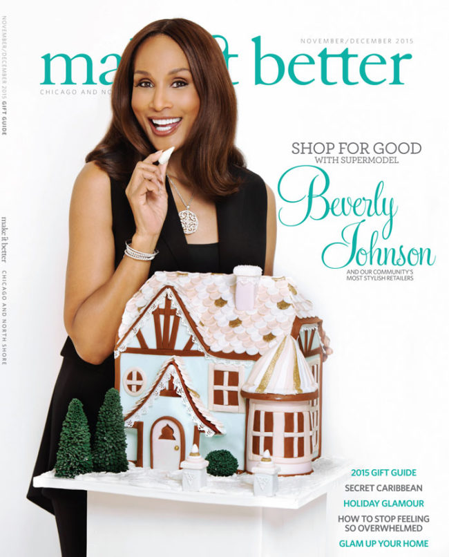Beverly Johnson Make It Better Cover