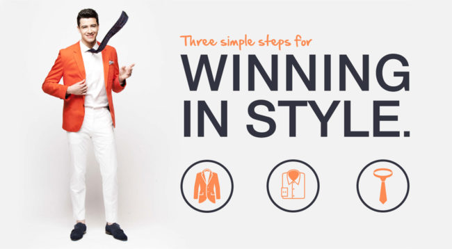Three simple steps for Winning in style