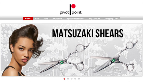Pivot Point Shop, Scissors Ad