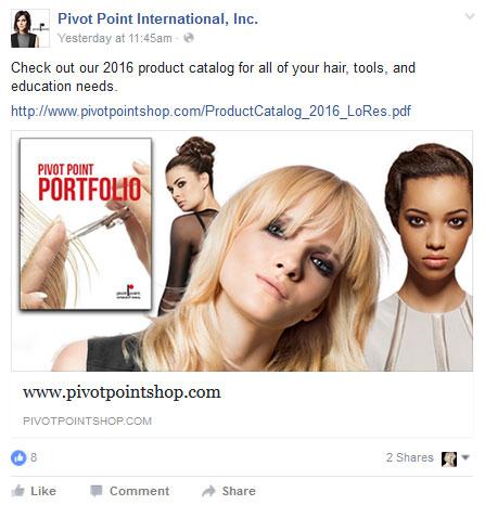 Pivot Point Shop Portfolio catalog banner