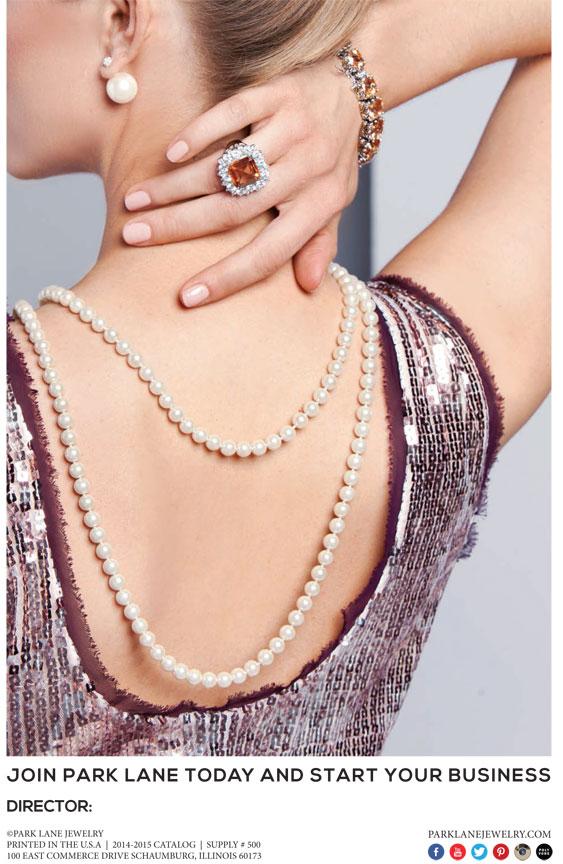 Park lane Jewelry Catalog Back Cover