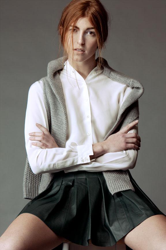 Portrait of Redhead
