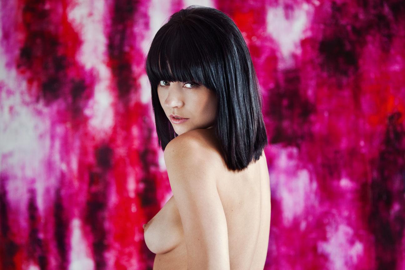 Girl topless
