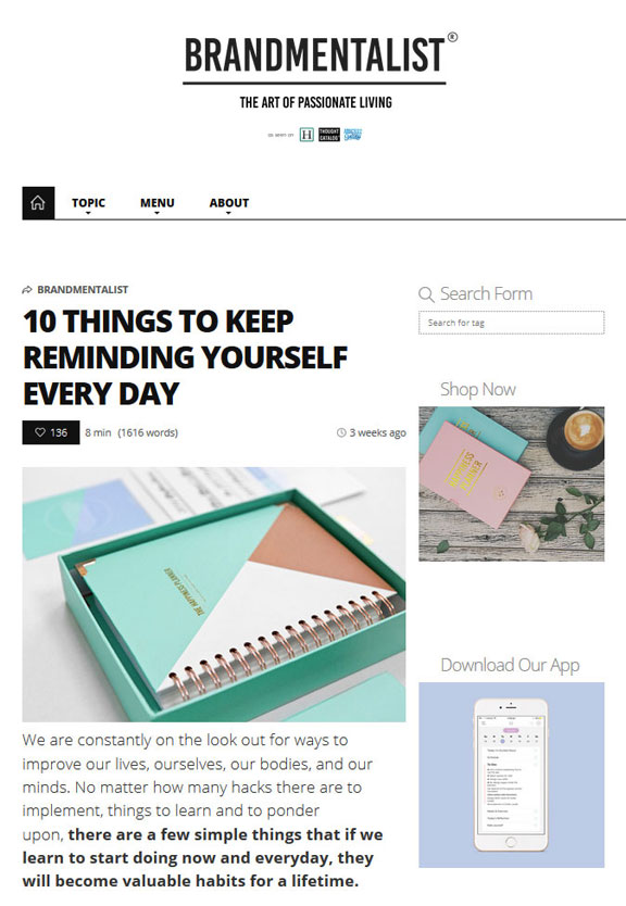 10 things to keep reminding yourself everyday