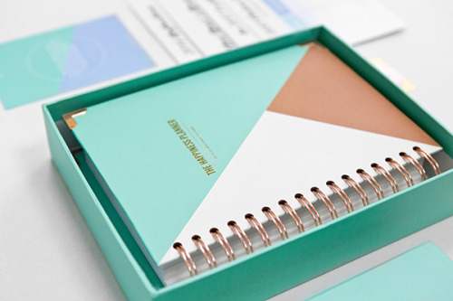 The Happiness Planner in Mint