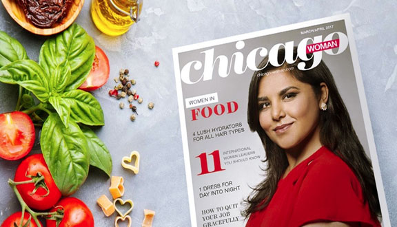 Alpana Singh Chicago Woman Cover