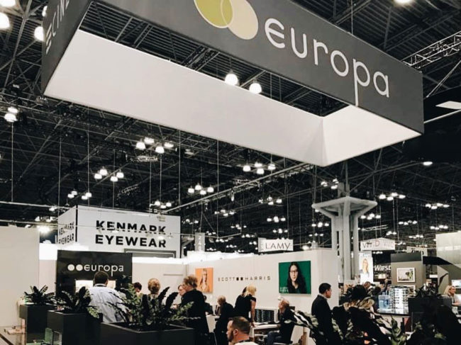 Scott Harris Imagery for Europa Eyewear Booth at Vision Expo East, New York City