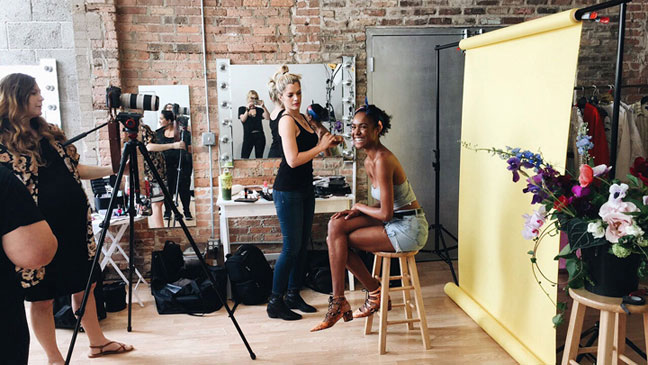 G&F Summer Beauty Behind The Scenes