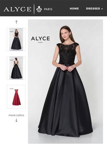 Alyce Paris Ballgown Style #27217