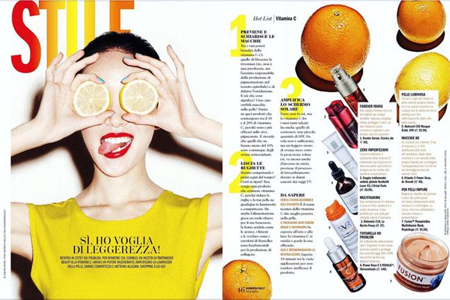 Vitamin C Hotlist Cosmopolitan Italia
