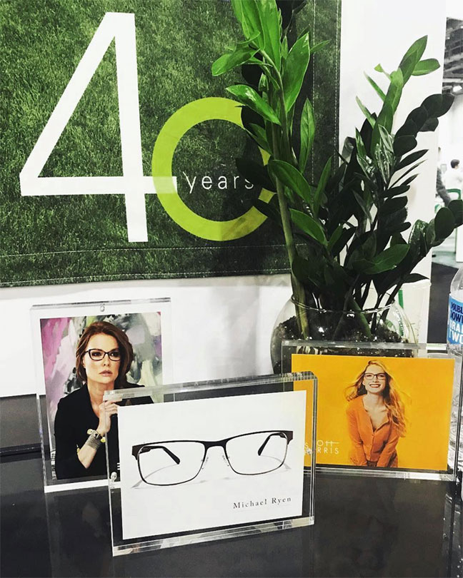 Europa Eyewear 40 year Anniversary