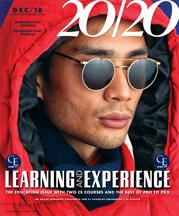 20/20 Magazine December Cover