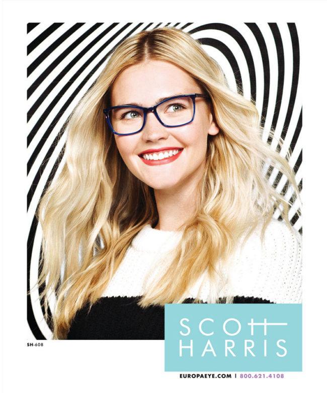 Scott Harris OP ART Ad